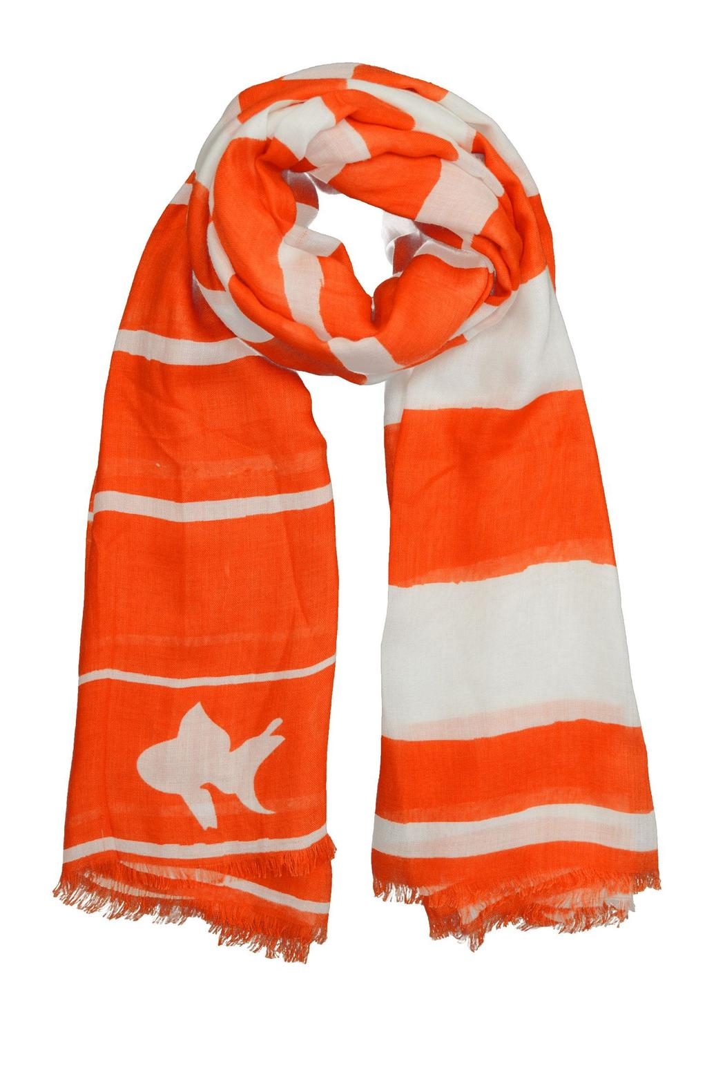 Winky Designs Orange Goldfish Scarf - Main Image