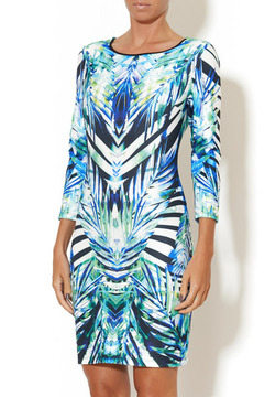 johanne Beck Lola Emerald Tropics Dress - Product List Image