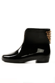 Shoptiques Product: Studded Ankle Rain Boots