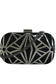 city design Metal Covered Clutch - Product Mini Image