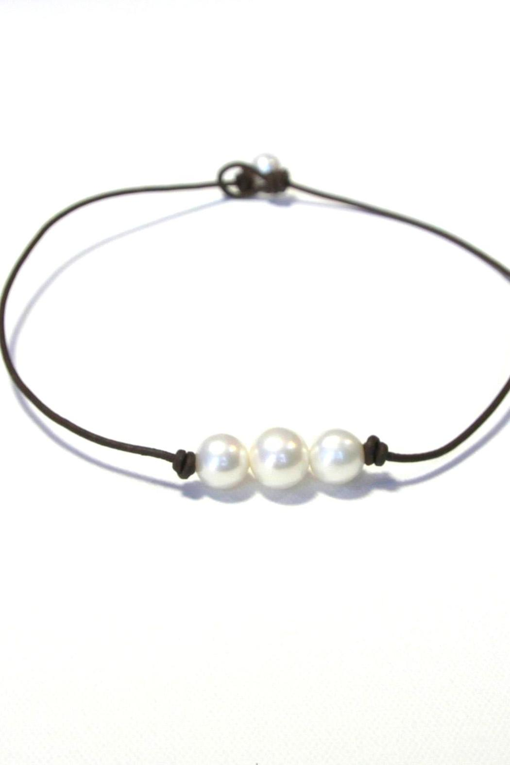 Lily Chartier Pearls Triple Pearl Necklace - Main Image