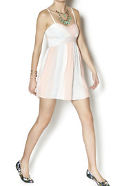 Free People Striped Burlap Dress - Other