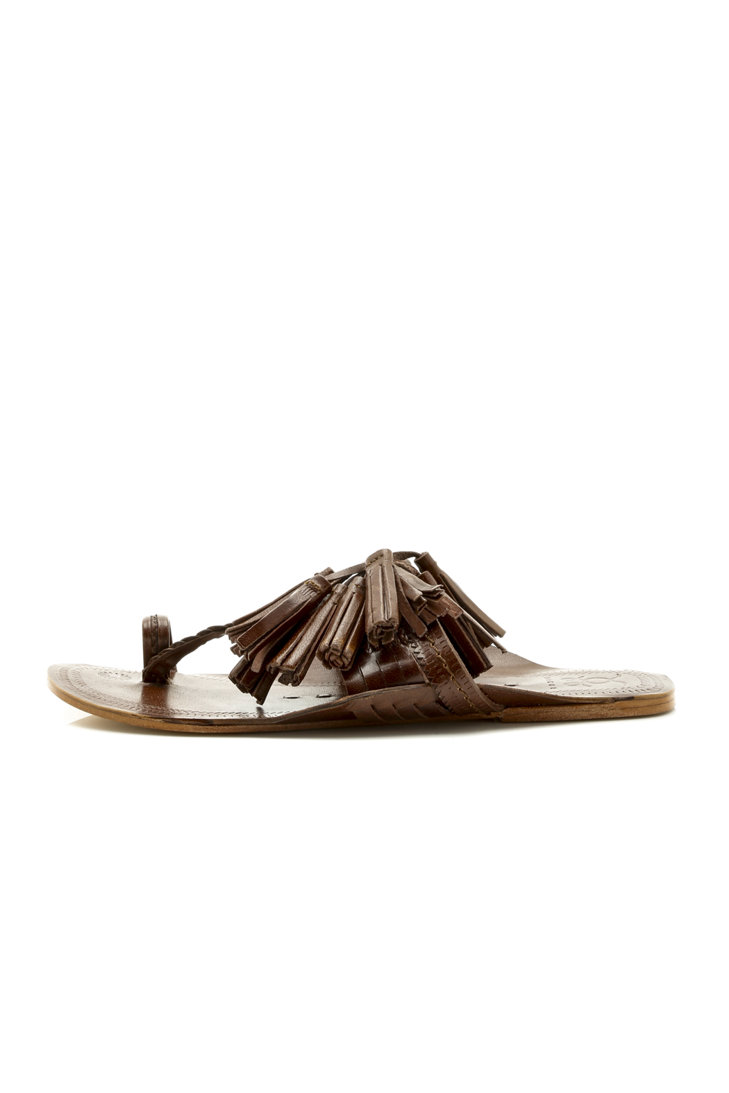 FIGUE Fringed sandals