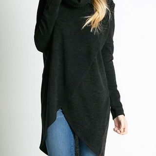 Shoptiques Product: Cowl Neck Wrap Sweater