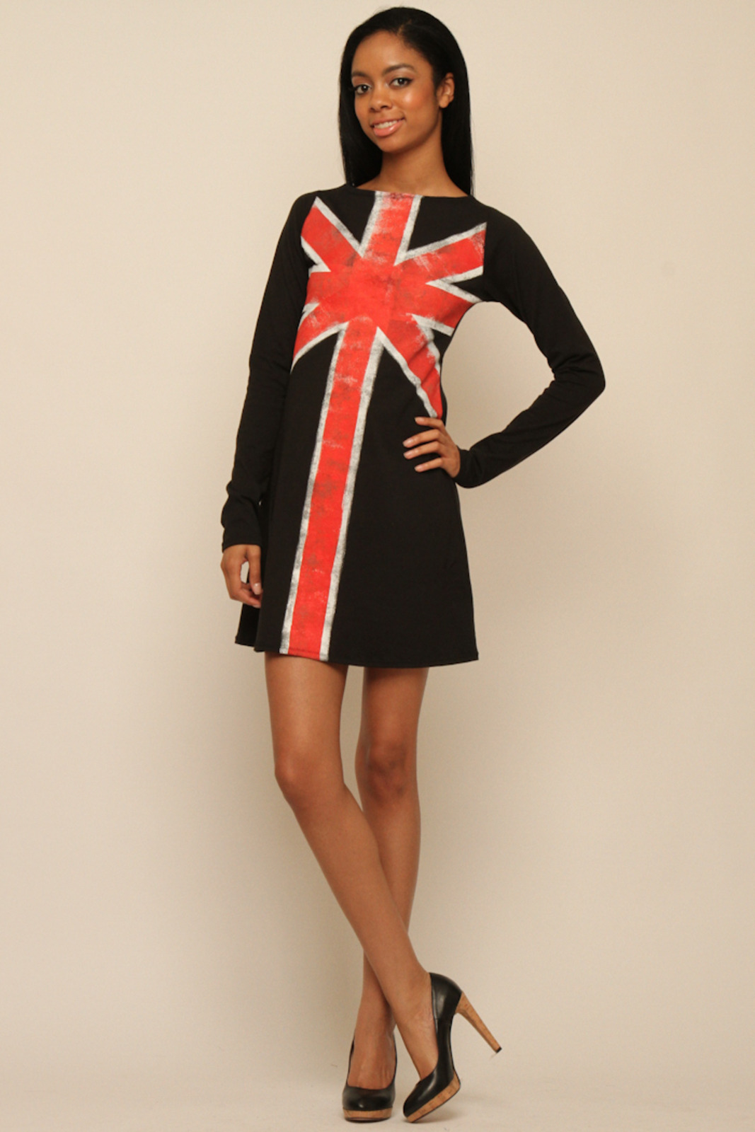 Lois Eastlund Union Jack Dress From Lower East Side By