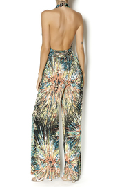 Trinity Spin Art Jumpsuit - Back cropped