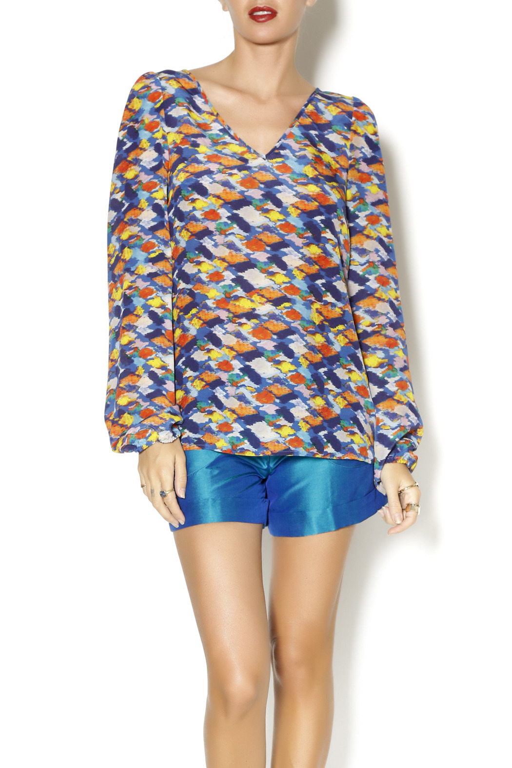 By Smith Monet Multicolor Blouse - Main Image