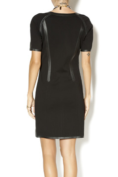 My Tribe Perforated Leather Dress - Alternate List Image