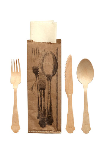 Seletti Disposable Wooden Cutlery - Main Image