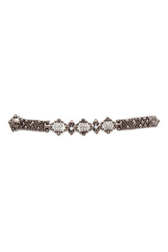 Liquid Metal Crystal Mesh Bracelet - Alternate List Image