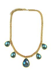 Ananda Golden Brass Necklace - Product Mini Image