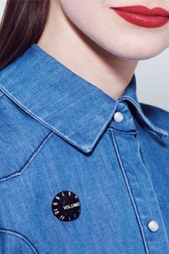 Shoptiques Product: Tatty Devine Volume Brooch