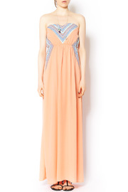 Shoptiques Product: Peach Maxi Dress