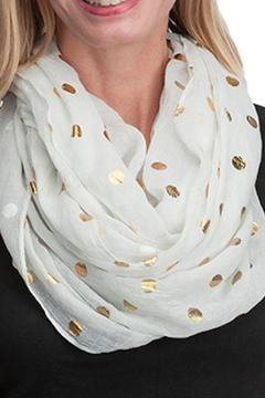 Shoptiques Product: White Infinity Scarf