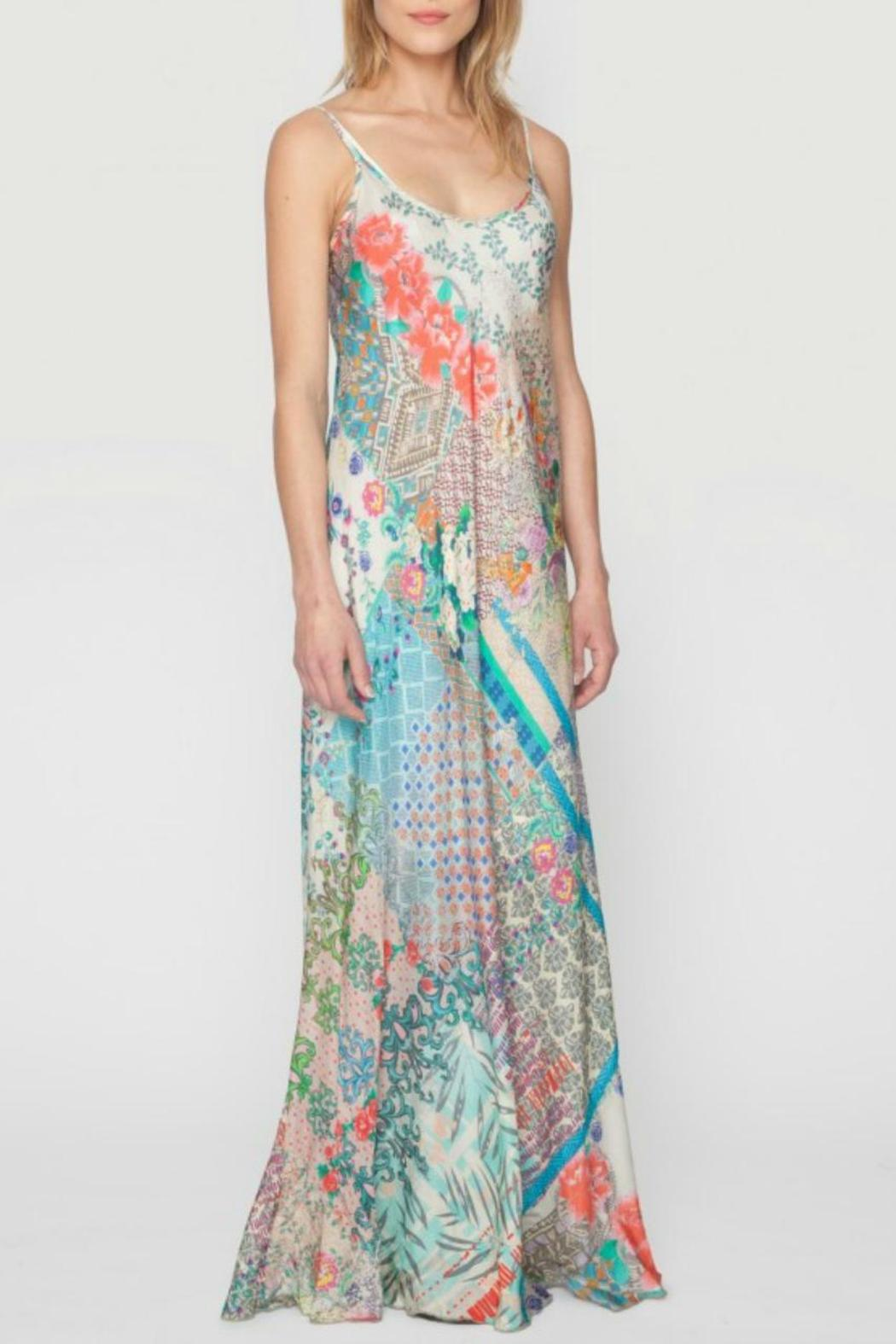 Johnny Was Patch Print Silk Maxi From New Orleans By Je T Aime Nola