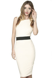 Shoptiques Product: Ivory Vanessa Dress - Front cropped
