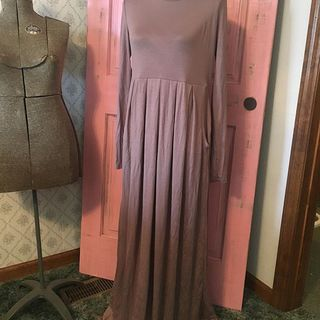 Shoptiques Mocha Maxi Dress
