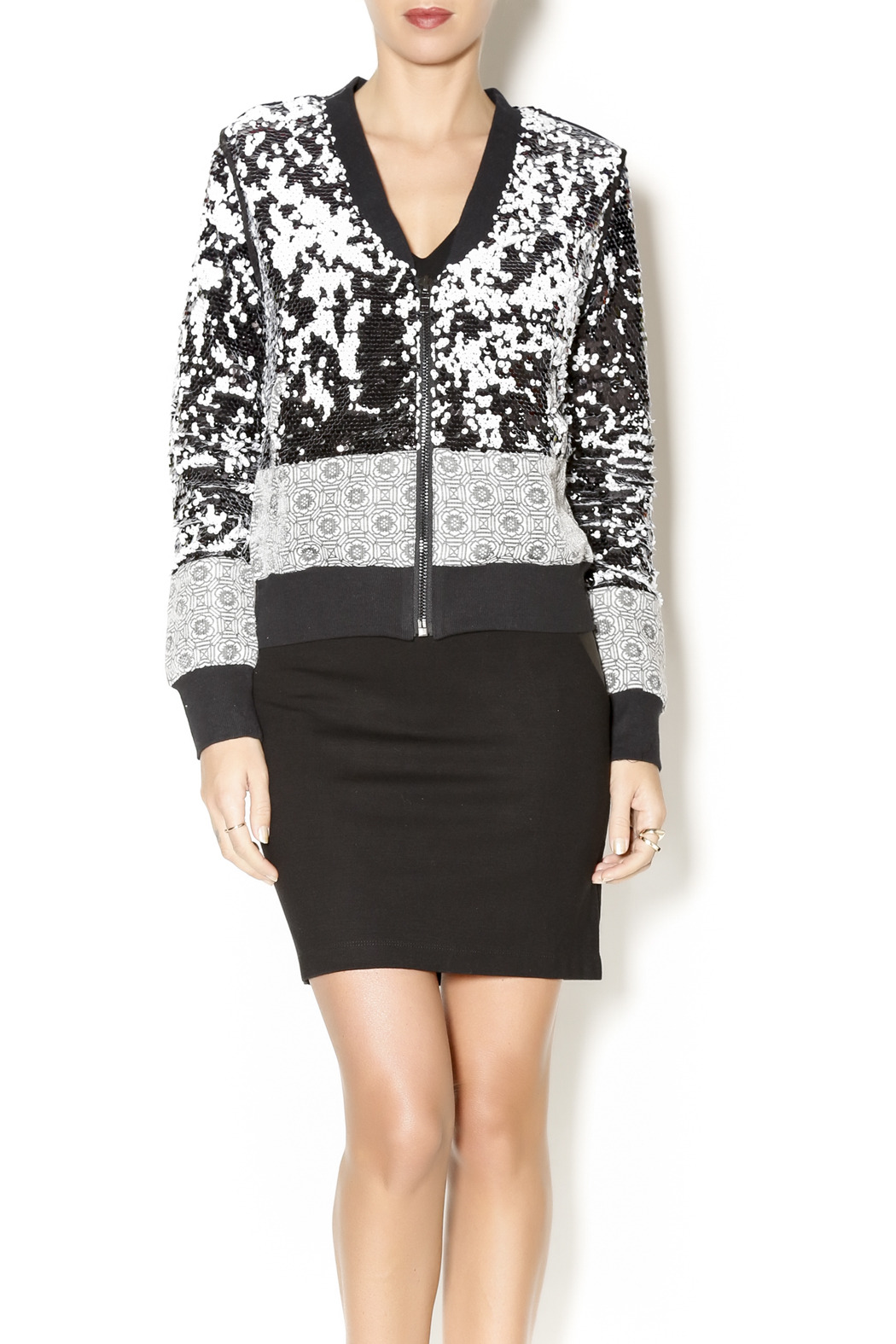 f8ad6f816304 Dance   Marvel Sequin Quilted Jacket from New York by Dor L Dor ...