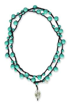 Shoptiques Product: Turquoise Michelle Necklace