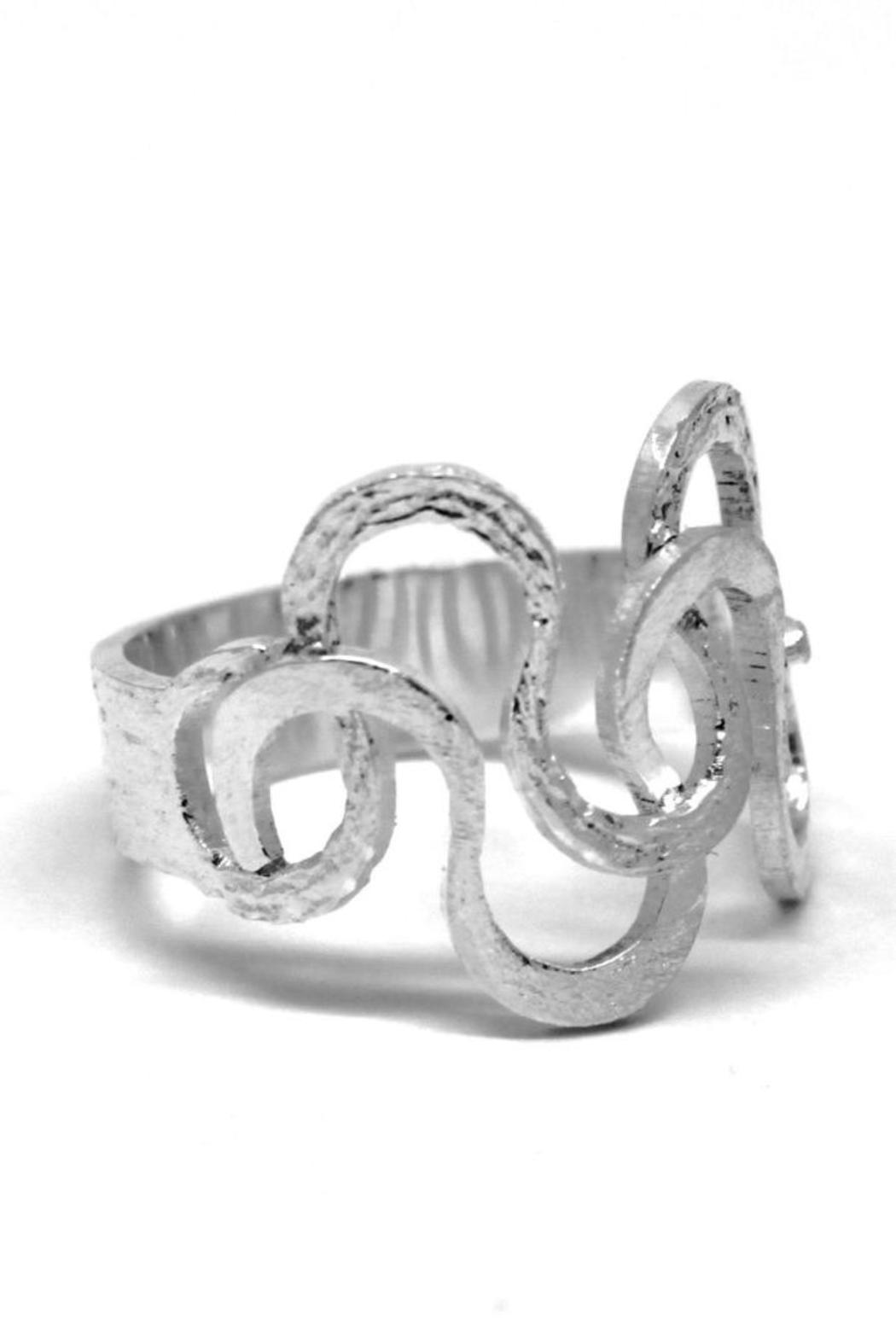 TeGo Silver Foam Ring - Main Image