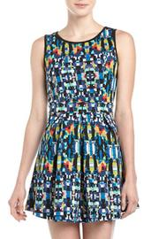 Romeo & Juliet Couture Digital-Graphic Style Dress - Product Mini Image