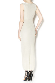 Wow Couture Couture Gold Dress - Back cropped