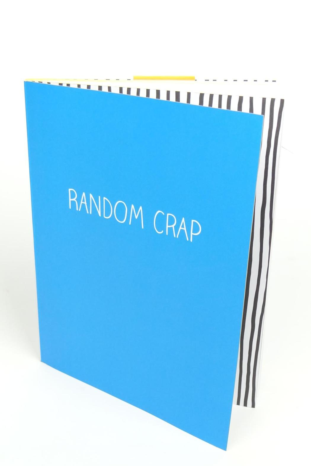 Happy Jackson  Large Jotter Notepad - Front Full Image