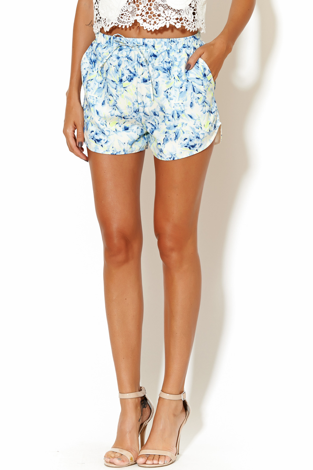 Lovers + Friends Adore Shorts - Main Image