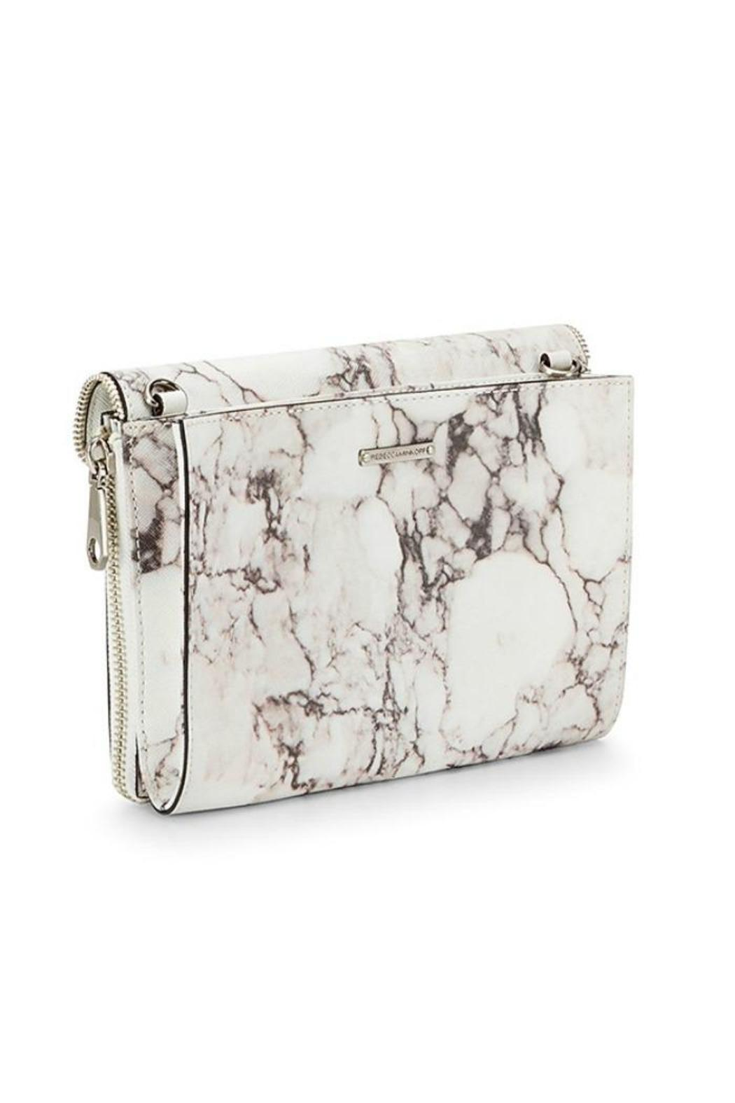 Rebecca Minkoff Marlowe Marbleized Crossbody - Front Full Image