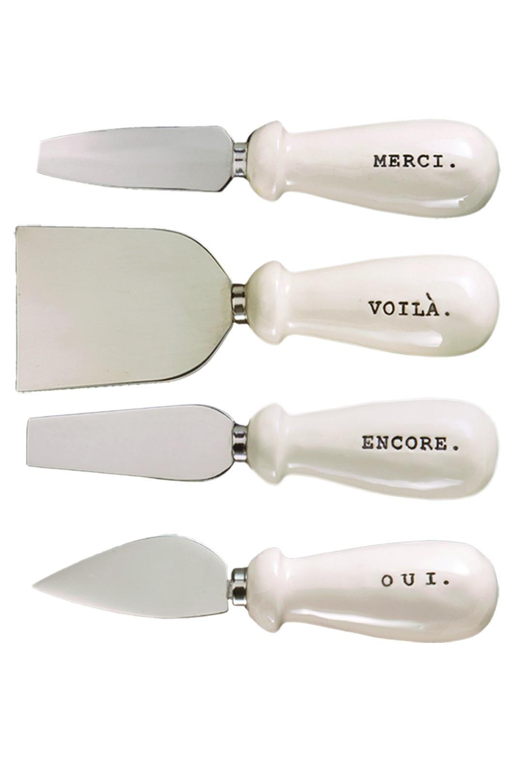 ReCreateU Gift Boxed Cheese-Knives - Side Cropped Image