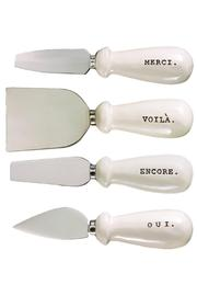 ReCreateU Gift Boxed Cheese-Knives - Side cropped