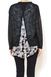 A'reve Sheer Garden Cardi - Back cropped
