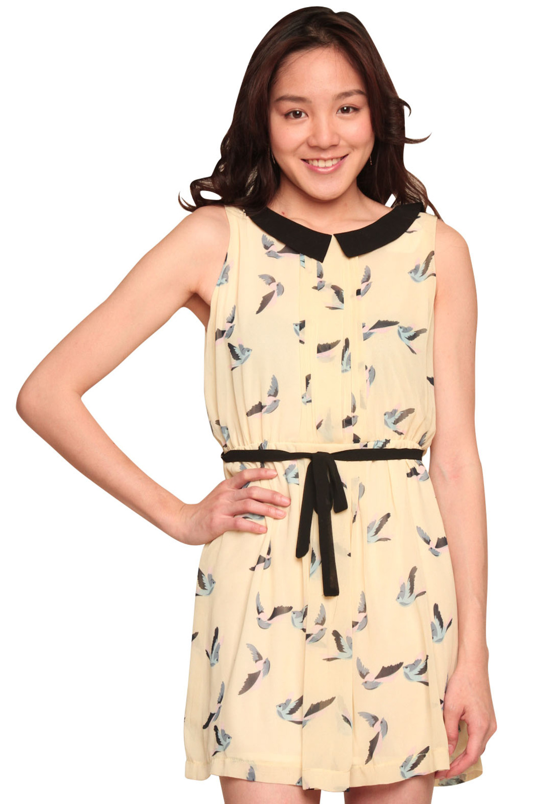 Tuttitrendy Little Bird Dress - Front Cropped Image