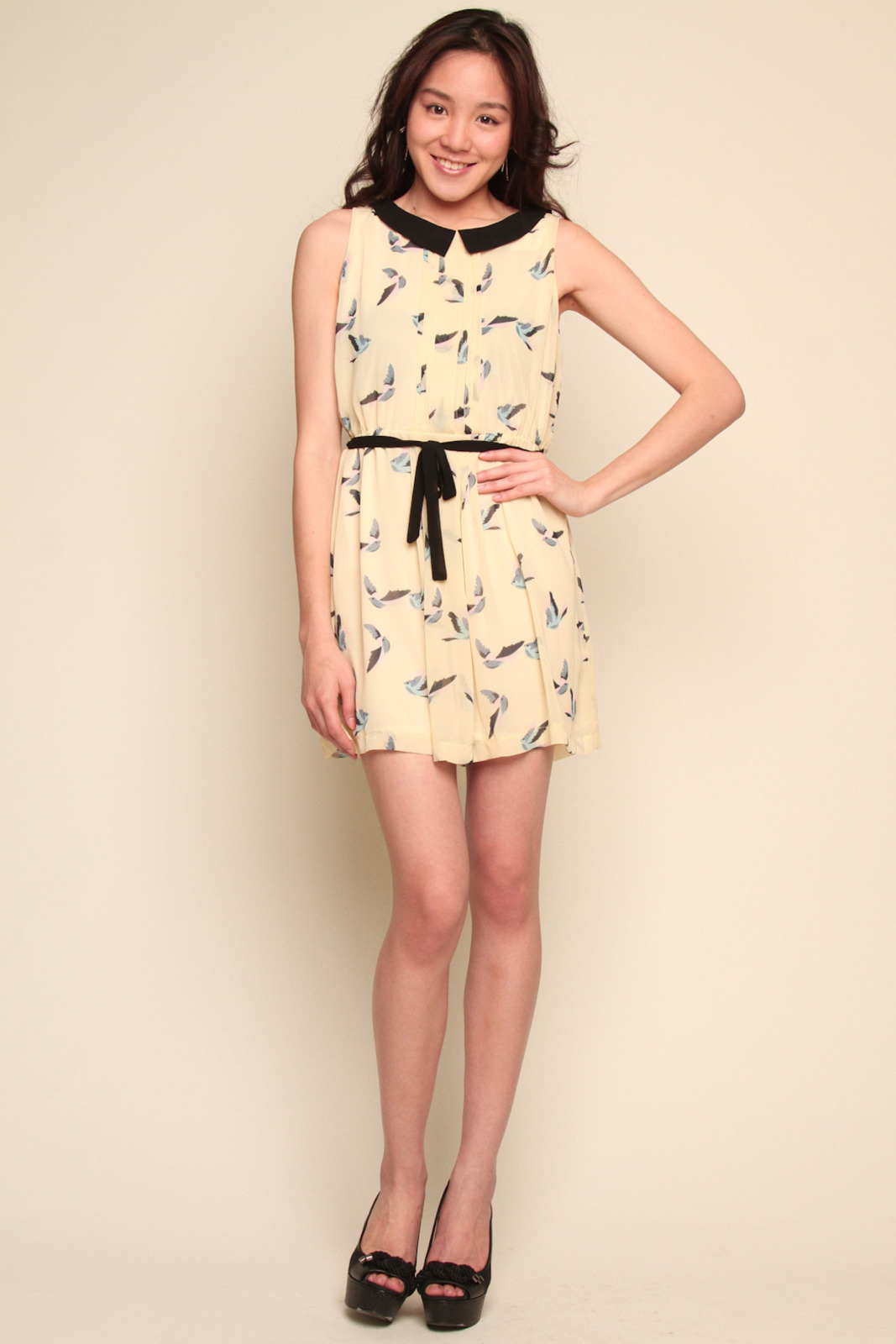 Tuttitrendy Little Bird Dress - Front Full Image
