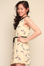 Tuttitrendy Little Bird Dress - Side cropped
