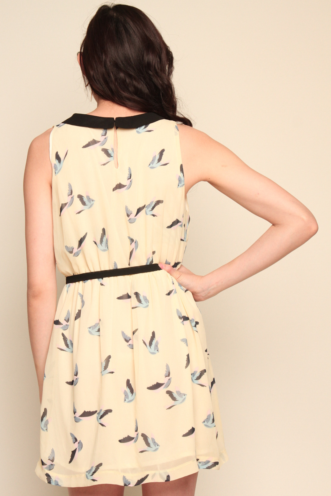Tuttitrendy Little Bird Dress - Back Cropped Image