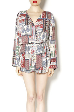 Shoptiques Product: Patchwork Romper
