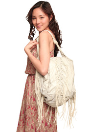 Shoptiques Product: Oversize Fringe Bag