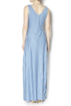 Tulle Striped Maxi Dress - Alternate List Image
