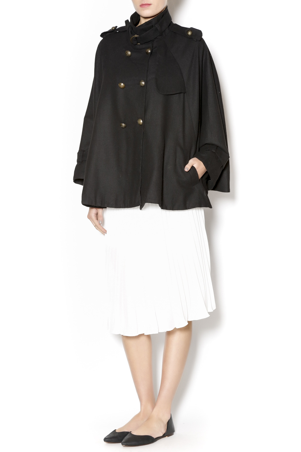 Cecico Military Style Cape - Front Full Image