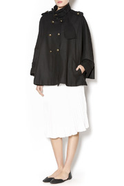 Cecico Military Style Cape - Front full body