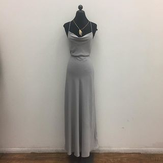 Shoptiques Draped Grey Dress