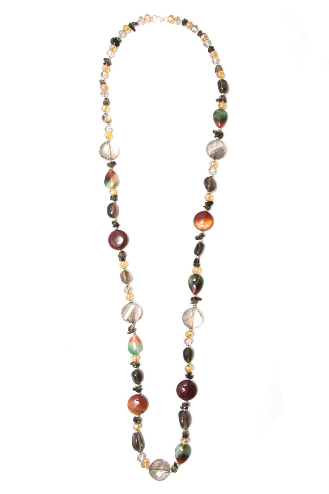 City Jewels42 Multicolor Cristal Necklace - Main Image