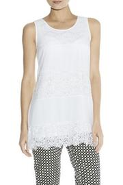 Darling Mixed Lace Tunic - Product Mini Image
