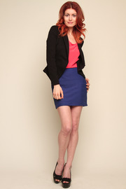 Only Hearts Collar Jacket - Front full body