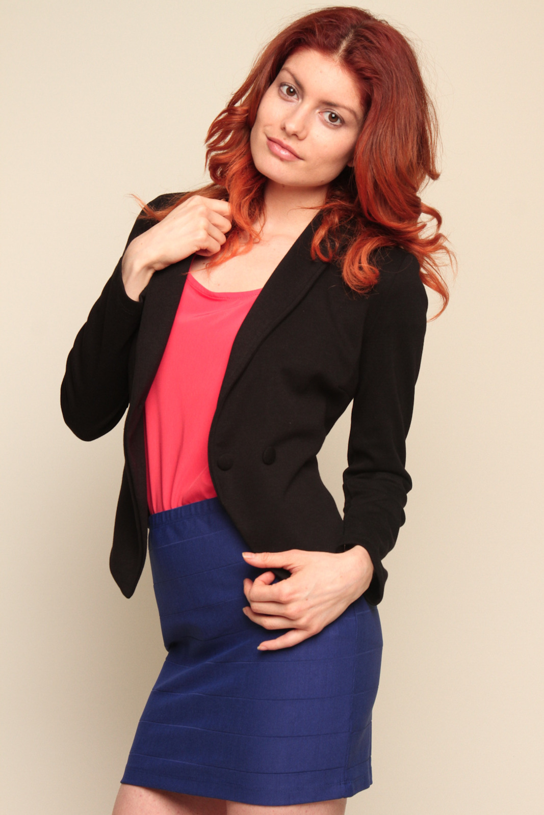 Only Hearts Collar Jacket - Side Cropped Image