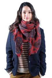Local Printed Scarf - Front cropped
