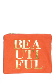 8 Oak Lane Beautiful Cosmetic Pouch - Product Mini Image