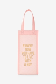 8 Oak Lane Engagement Wine Tote - Side cropped