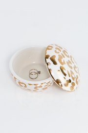 8 Oak Lane Leopard Trinket Box - Product Mini Image
